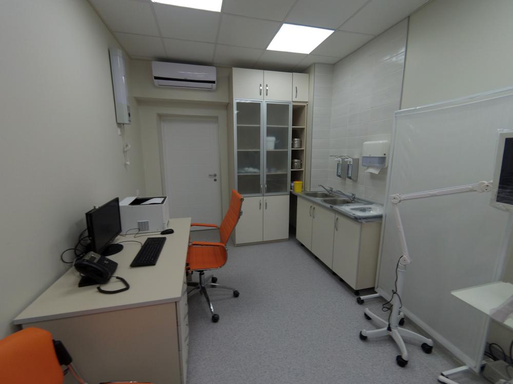 Медицинская мебель, Vernipoll, проект медцентра