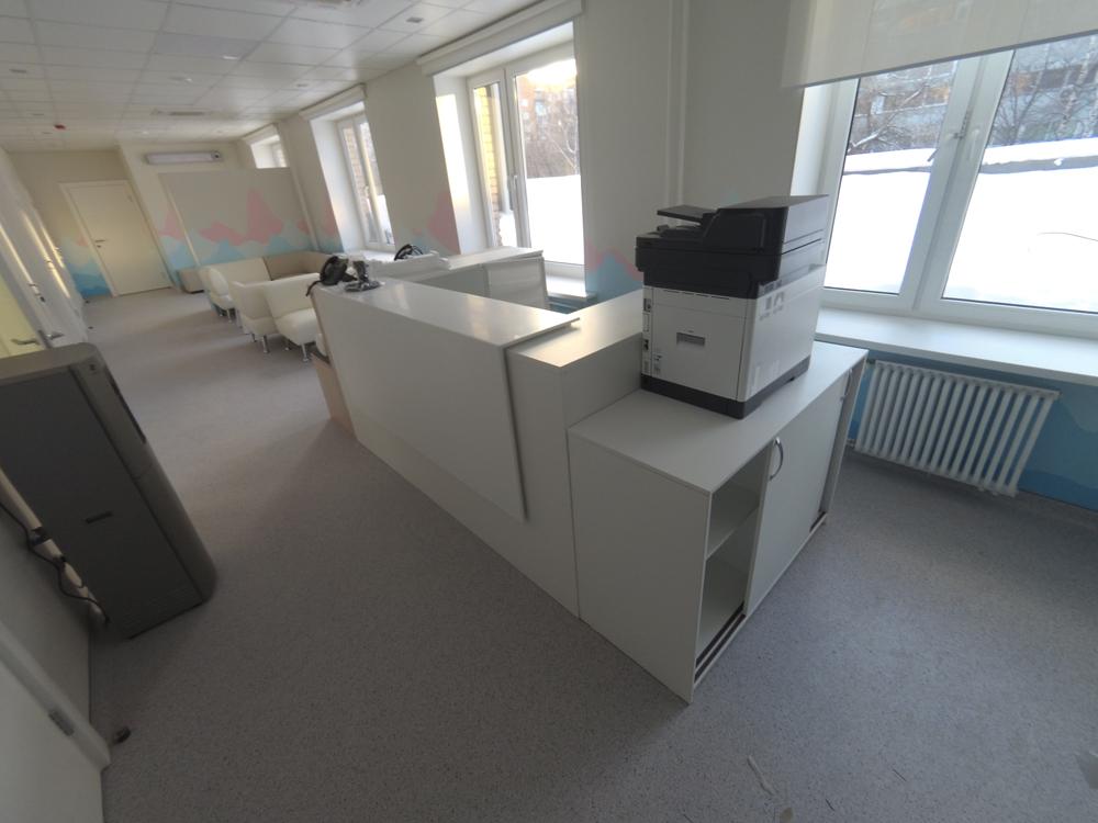 Медицинская мебель Vernipoll, проект медицинской клиники, медицинского центра