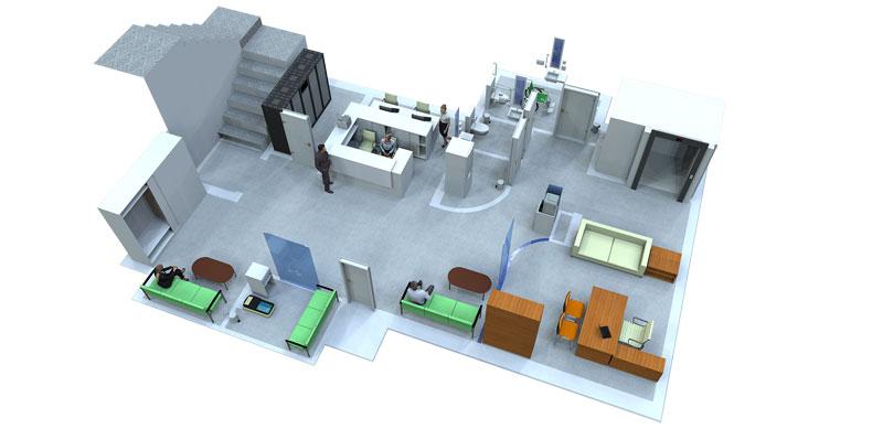 Дизайн проект медицинского центра